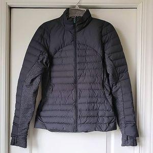 Lululemon Fluff Off Black Herringbone Jacket 8